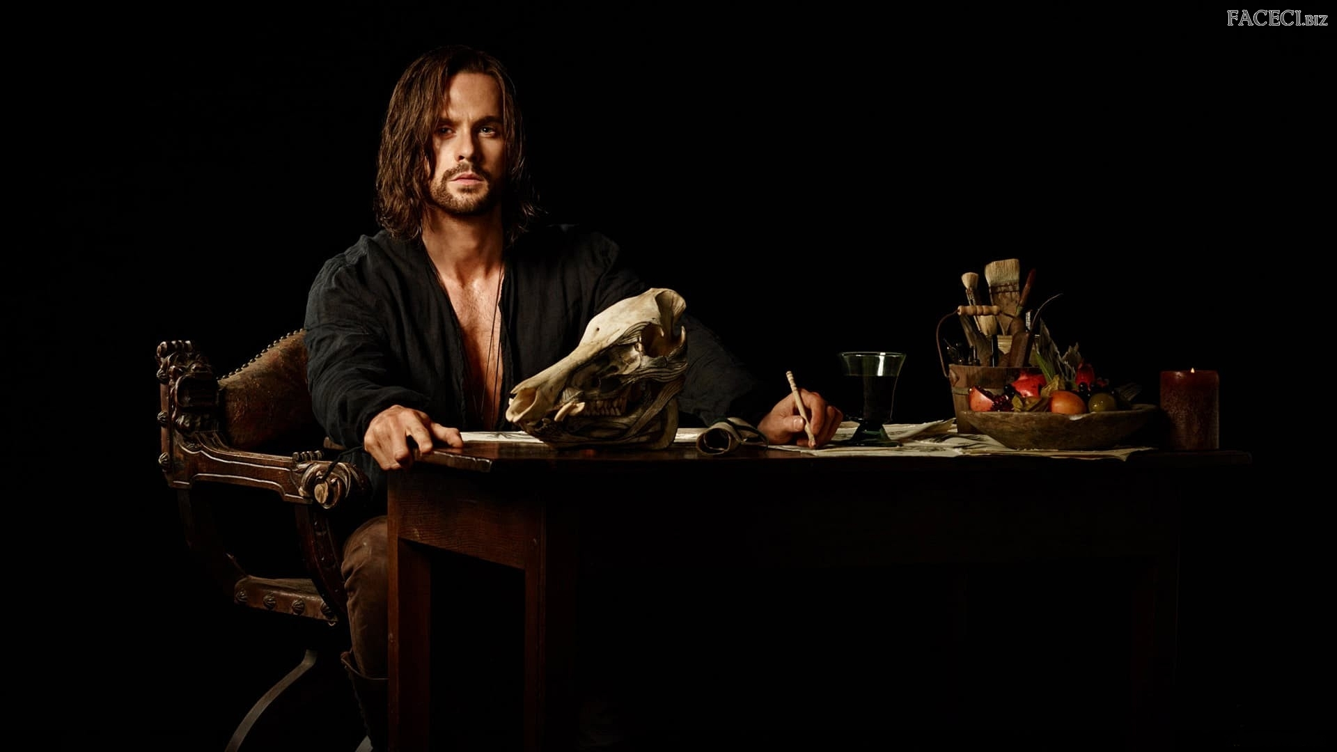 Tom Riley, Aktor, Demony Da Vinci, Serial, Leonardo da Vinci